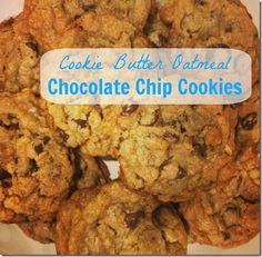 Cookie Butter Oatmeal Chocolate Chip Cookies - Mama Bub