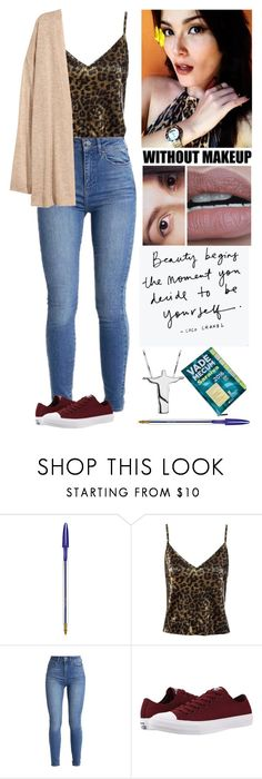 """""""College: Civil Procedural Law. #ootd"""" by annacastrolima ❤ liked on Polyvore featuring Maybelline, GET LOST, Sans Souci, Converse, ootd, college, outfitoftheday, lawstudent and VadeMecum"""