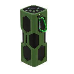 #TomTop - #generic Bluetooth 4.0 Wireless NFC Stereo Speaker Music Soundbox Speakerphone Handsfree with 3600mAh Power Bank Microphone Water-resistant Shockproof Outdoor - AdoreWe.com