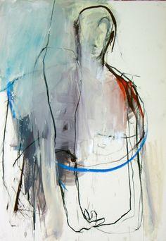 Mário Rita // Desenho | Série nº10 | nº 52 Técnica mista s/papel | 100 x 70cm | 2009