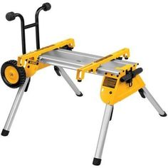 DEWALT Aluminum Rolling Table Saw Stand at Lowe's. The DEWALT Rolling Table Saw Stand has a lightweight design, weighing only 33 lbs. The heavy-duty kickstand allows the stand to balance upright Best Miter Saw Stand, Mitre Saw Stand, Circular Saw Reviews, Best Circular Saw, Sliding Compound Miter Saw, Compound Mitre Saw, Diy Table Saw, A Table, Dewalt Table Saw Stand