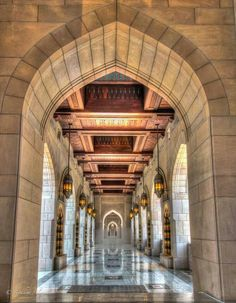 Sultan Qaboos Grand Mosque -Oman