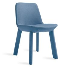 Neat Chair is an entirely upholstered dining chair available in colorful finishes. Shop Blu Dot's Neat Collection of upholstered chairs. Solid Wood Dining Chairs, Upholstered Dining Chairs, Chair And Ottoman, Dining Chair Set, Living Room Chairs, Chair Cushions, Arm Chairs, Blue Chairs, Dining Room