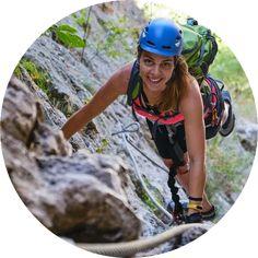Migaren - Via Ferrata ved Jøssingfjorden er en fin klatrerute for nybegynnere. Turen tar ca. 1,5 time. Activities, Vertigo, Woman