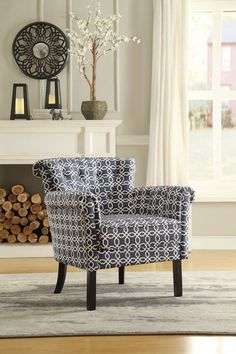 Barlowe Collection Accent Chair 1193F6S Free Shipping