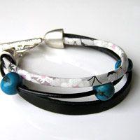 Bracelet Cuir & Liberty