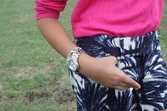 Guess watch... With summer outfit.   Stylishlyinlove.blogspot.com