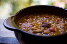 Zuppa di Legumi Misti e Bulgur