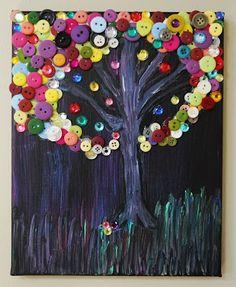 Beneath the Button Tree | The Art Annex