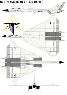North American XF-108 Rapier by bagera3005.deviantart.com on @DeviantArt