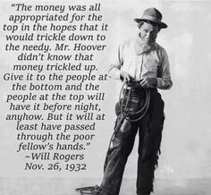 Trickle up