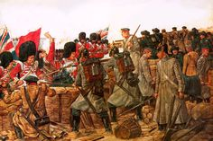 The Battle of the River Alma during the Crimean War.
