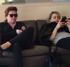 Orange is the New Black - Kate Mulgrew and Taylor Schilling