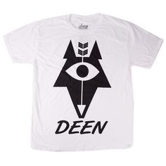 Real good oversized T-shirt print for Deen Clothing - a new clothing line from Aberdeen.