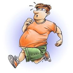 Brian Jogging Digi Stamp in Digital images