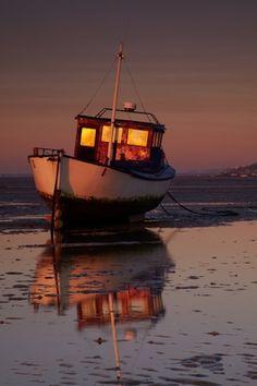 Sunrise Reflection by Chris Shepherd by ada