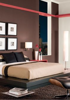 Give Your Bedroom A Makeover With Modern Furniture And Paint Colors By Behr The Sophisticated
