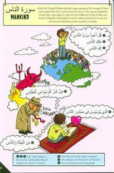Islamic Book, Quran, Hadith My First Quran with Pictures: Juz' Amma Part 1 Quran Tafseer, Quran Book, Quran Arabic, Islamic Books For Kids, Islam For Kids, Learn Arabic Alphabet, Alphabet For Kids, Teaching Kids, Kids Learning