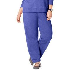 Just My Size Women's Plus Size Fleece Sweatpant, Up to size 5X, Size: 3XL, Blue
