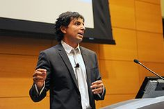 Writer, director, producer and actor M. Night Shyamalan speaks at Wharton as part of the Wharton Leadership Lecture Series on November 17, 2011, sponsored by Givology and the M. Night Shyamalan Foundation.