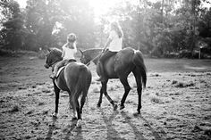 beautiful mom and daughter riding shoot on Evoking You