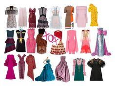 """#Statement Dresses Galore -A💋"" by amoses19 on Polyvore featuring Christian Siriano, Michael Kors, Lattori, self-portrait, Gucci, Zac Posen, Oscar de la Renta, Isa Arfen, Pierre Cardin and Moschino"