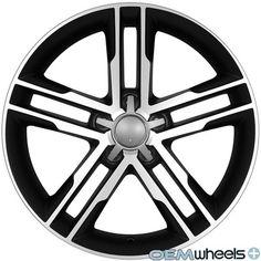 "18"" Black s Line Style Wheels Fits Audi A5 S5 RS5 B8 8T Coupe Cabriolet Rims | eBay"