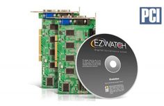 The 32 Channel PCI Card Value from EZWatch manages up to 32 simultaneously recording security cameras and 8 audio feeds. Recording at 240 FPS with crisp, clear resolution these cards turn your PC into a fully functional security system.
