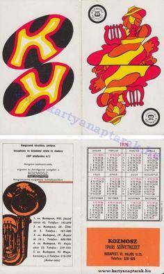 1976 - 1976_0625 - Régi magyar kártyanaptárak