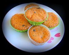 Cukrzycowe orzechowe muffinki bez cukru i mąki
