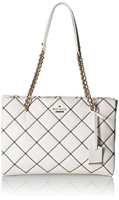 kate spade new york Emerson Place Small Phoebe Tote Bag, Cement/Black, One Size -- You can get additional details at http://www.passion-4fashion.com/handbags/kate-spade-new-york-emerson-place-small-phoebe-tote-bag-cementblack-one-size/?cd=030716033710
