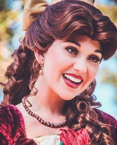 No wonder her name means Beauty ✨ All Disney Parks, Disney Live, Disney Dream, Disney Magic, Walt Disney, Disney World Princess, Disneyland Princess, Disney Princesses And Princes, Beauty And The Beast Costume