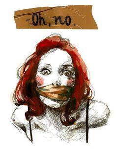 """Oh, no"" by Paula Bonet."