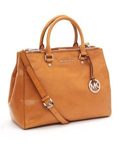 Michael Michael Kors Bedford Large Dressy Tote Luggage