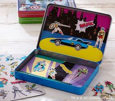 Great travel toys for kids: DC Comics Magnetic Scenes