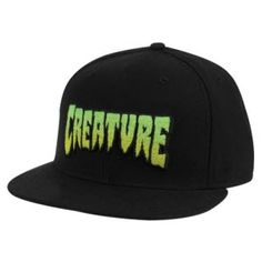 Creature Skateboards Creature Logo Fade Flextfit Hat - Small Medium c591554c741f