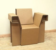 This guy dropped out of Yale and became famous by making cardboard furniture.  Amazing.
