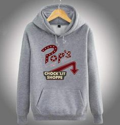Plus size Riverdale hoodie pops chock lit shoppe design