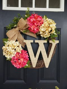 Summer Wreath. Monog