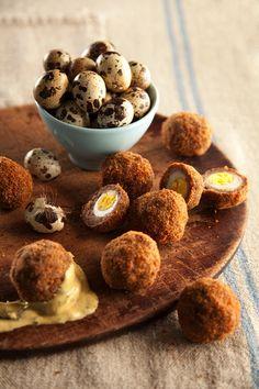 Scotch Quail Eggs from Libbie Summers