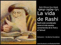 Rashi - [ Shlomó ben Itzjak רבי שלמה יצחקי  ] Su vida - Animación