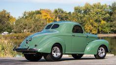 1941 Willys Americar Street Rod - 3 - Print Image Rat Rod Cars, Hot Rod Trucks, Rat Rods, Classic Hot Rod, Classic Cars, American Racing Wheels, Vintage Air, Drag Cars, Street Rods