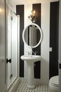 traditional bathroom by Stonebreaker Builders & Remodelers...for powder room?