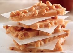 Peanut Butter Chip Brittle