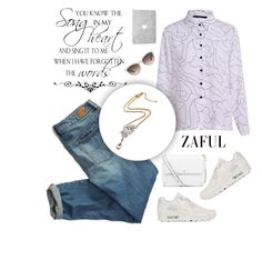 """Zaful 11"" by sabinakopic ❤ liked on Polyvore featuring American Eagle Outfitters, Tory Burch, NIKE, Gucci, bestylish, zaful and lovezaful"