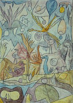 Paul Klee: Vogelsammlung. 1917