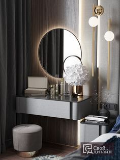 Room Design Bedroom, Bedroom Furniture Design, Home Room Design, Home Decor Bedroom, Interior Design Living Room, Modern Luxury Bedroom, Modern Bedroom Design, Luxurious Bedrooms, Luxury Interior