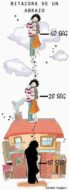 FRASES DE SOLEDAD VOULGARIS Illustrators, Hug, Snoopy, Stickers, Motivation, Feelings, Comics, Pictures, Movie Posters