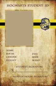 Hufflepuff student ID