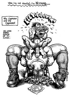 Robert R. Crumb Robert Crumb, Underground Comics, Cartoon Kunst, Cartoon Art, Fritz The Cat, Alternative Comics, Figure Sketching, Hip Hop Art, Comic Drawing